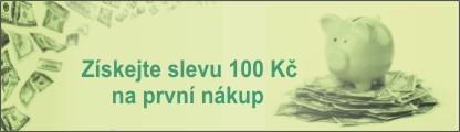 Prvni nákup - 100KČ