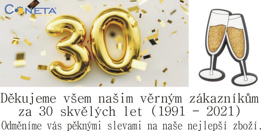 Výročí formy 30 let